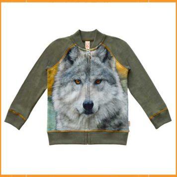 WILD vest Tygo Grey Wolf