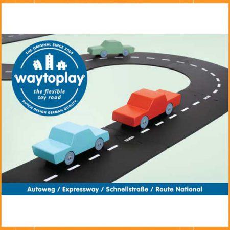 WaytoPlay 16-delige Autoweg