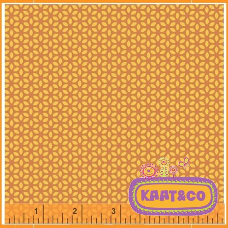 Windham Fabrics Flower Orange