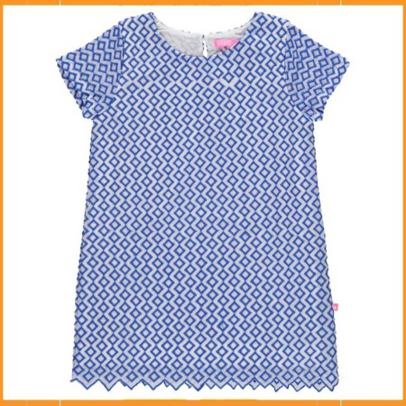 Lebig Embroidery Dress blauw
