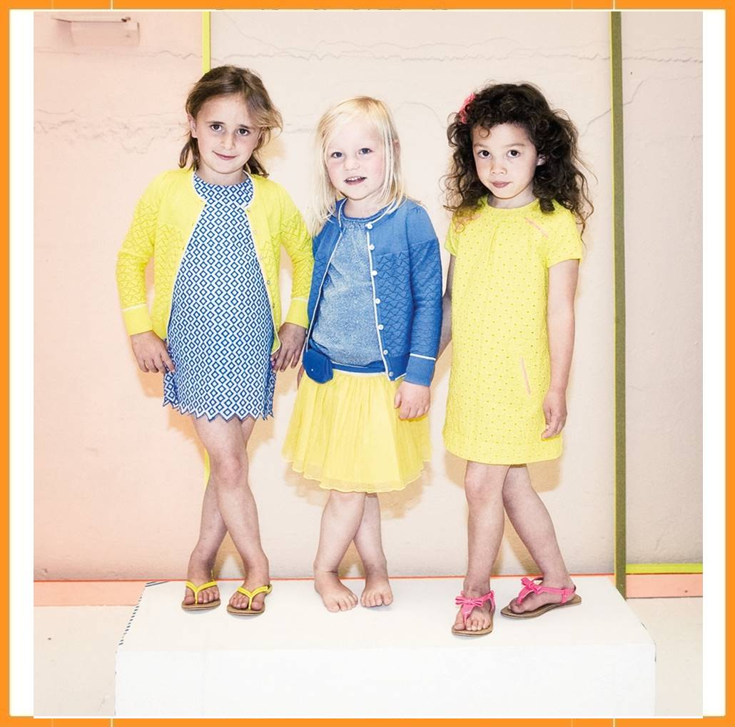 7b7e512ff9da0e Lebig Embroidery Dress blauw 146 152 - Kaat Co