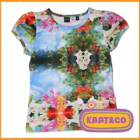 Molo T-shirt Rimona Tropical