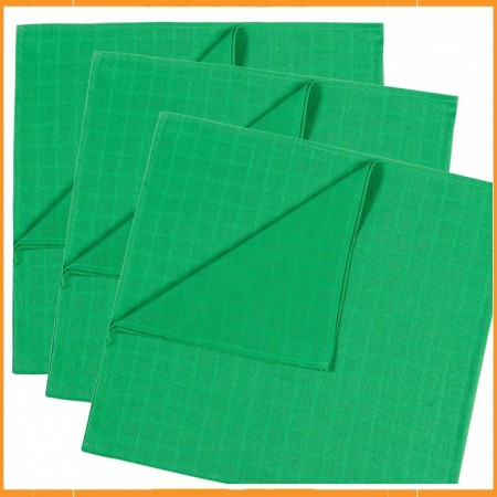 Mundo Melocoton set 3 tetradoeken groen