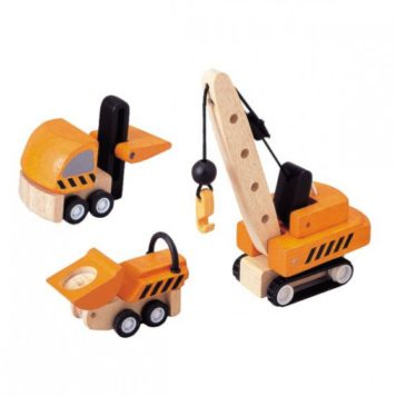 Plan Toys Constructie Voertuigen