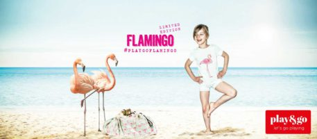 Play&Go speeltapijt-opbergzak Flamingo (limited edition)