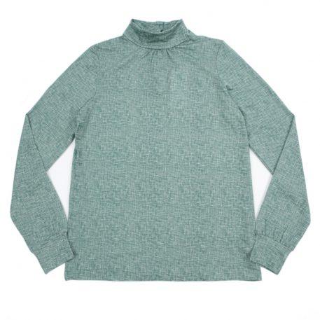 Lily Balou Maud Top Texture Green