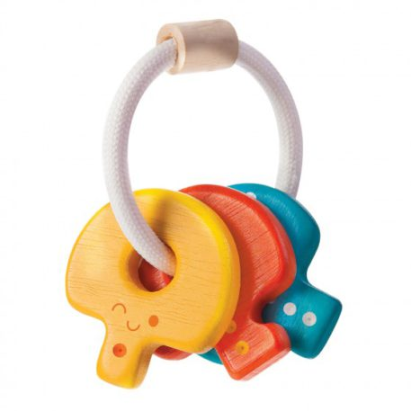 Plan Toys rammelaar Sleutels