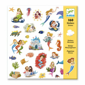 Djeco Stickerset Mermaids