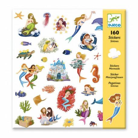 Djeco Stickerset Mermaids