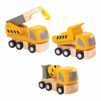 Plan Toys Wegenwerken